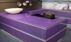 Küchenarbeitsplatte aus ESG Optiwhite Lackiert, Arbeitsplatte