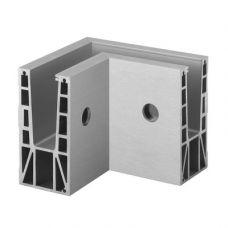 90° Ecke, Easy Glass Max, Seitenmontage, Modell 6315, für Glasdicke - 19 - 31,52 mm, Innenecke, Outdoor, pro Stück
