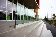 Glaswande Aussen aus 3 Fach Isolierglas