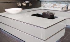 Küchenarbeitsplatte aus ESG Satiniert, Arbeitsplatte