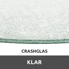Crashglas Klar