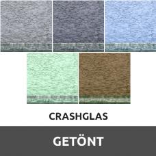Crashglas Getönt