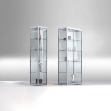 Glasvitrine aus ESG Glas Klar