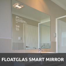Floatglas Smart Mirror, Mirastar, Mirropane, Spionspiegel