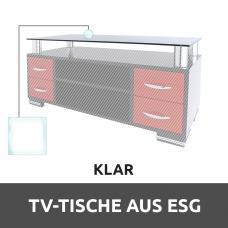 TV-tische aus ESG Glas Klar Konfigurieren