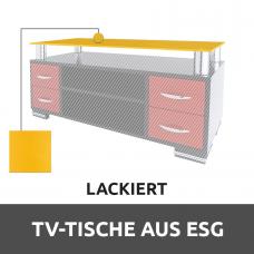 TV-tische aus ESG Glas Lackiert