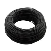 Kabel für LED-spotlight, Modell 0011, Farbe - Schwarz, Länge - 100 m, Outdoor, pro Stück