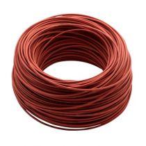 Kabel für LED-spotlight, Modell 0012, Farbe - Rot, Länge - 100 m, Outdoor, pro Stück