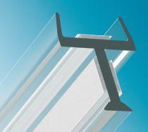 Verbindungsprofil 3-Wege-Verbindung, Glasdicke - ESG/VSG 10/10,8 mm