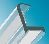 Verbindungsprofil 90° Kantenschutz, Glasdicke - ESG/VSG 10/10,8 mm
