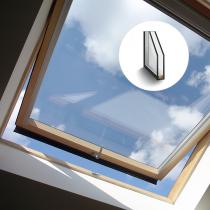 Dachverglasung aus 2 Fach Isolierglas