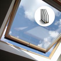 Dachverglasung aus 3 Fach Isolierglas