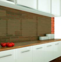Küchenrückwand aus ESG getöntes Glas durchsichtig Konfigurieren