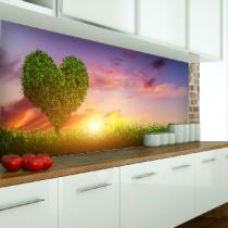 Küchenrückwand aus ESG Motivglas Konfigurieren