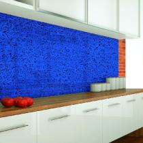 Küchenrückwand aus Crashglas Farbig Folie Optiwhite Klar Konfigurieren