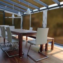 Glas für Veranda aus VSG getöntes Glas Matt Konfigurieren