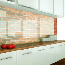 Küchenrückwand aus ESG Klar