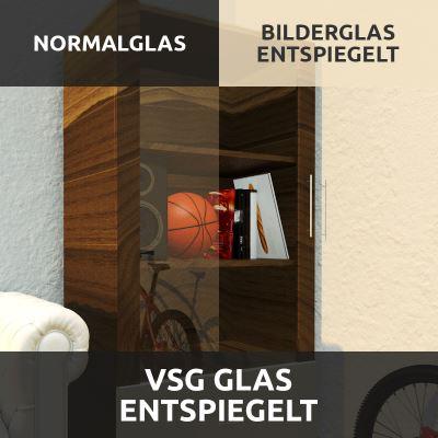 VSG Glas Entspiegelt